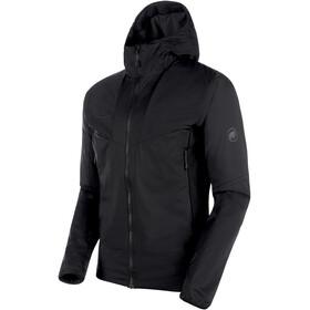 Mammut Rime Light IN Flex Hooded Jacket Herren black